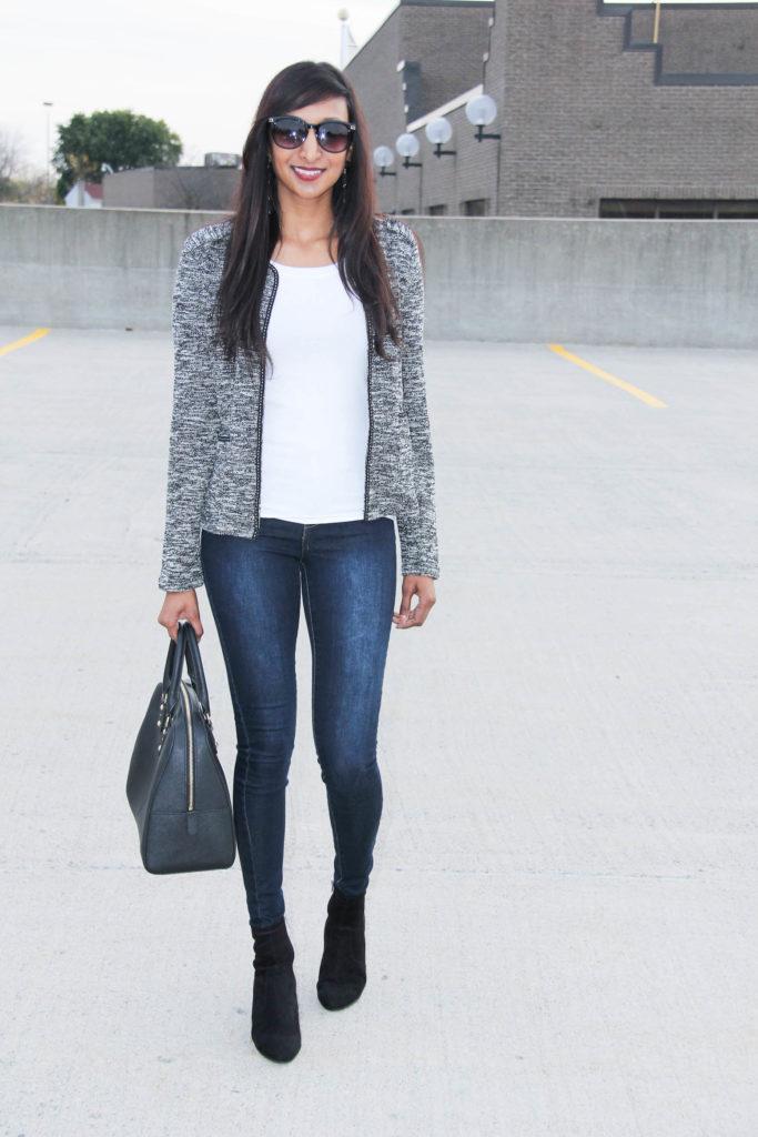 9ed9b4fddcb0 Chanel Inspired Blazer - The Weekend Fashionista